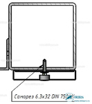Комплект Н3 – Крепление на металлоконструкцию