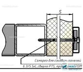 Комплект Т10 – Крепление на металлоконструкцию через сэндвич-панель