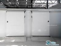 Комплекс откатных холодильных дверей коммерческой серии