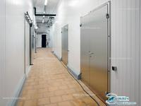 Холодильные двери Ирбис из нержавеющей стали