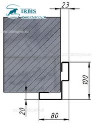 Варианты рам для дверей с петлей Cas 4150