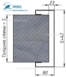 Варианты рам для дверей с петлей V-cam