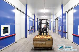 Двери для овощехранилища с РГС