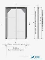Пленочная дверь МДД