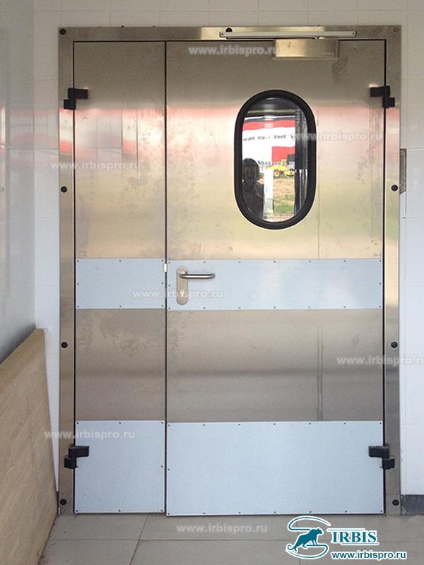 Двухстворчатая технологическая дверь Ирбис