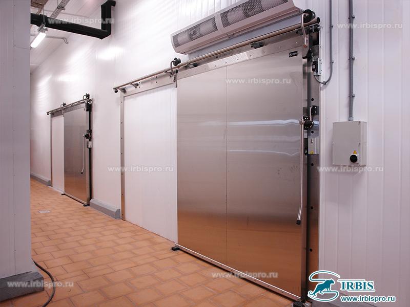 Откатные холодильные двери Ирбис