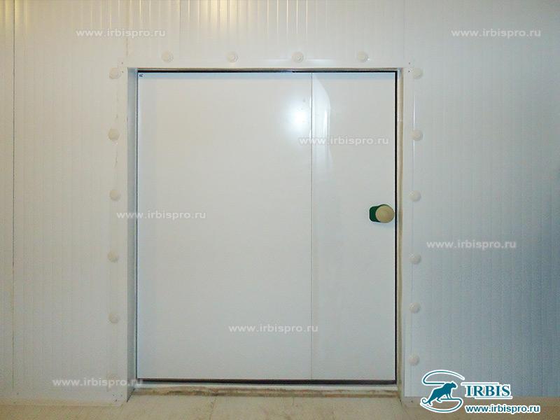 Холодильная камера, оснащенная распашной дверью общего назначения