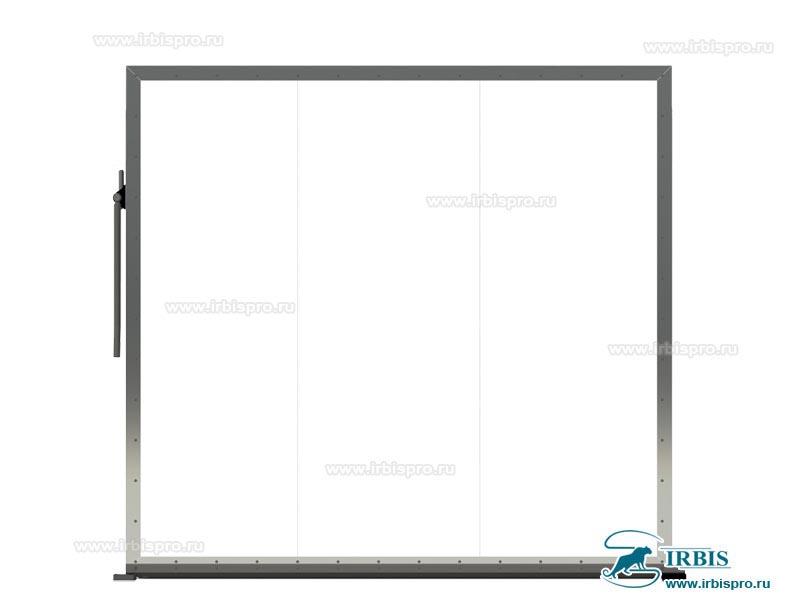 Дверное полотно холодильной противопожарной откатной двери Ирбис