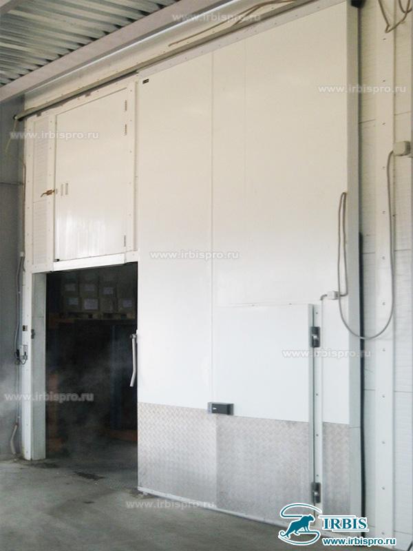 Откатная холодильная дверь общего назначения